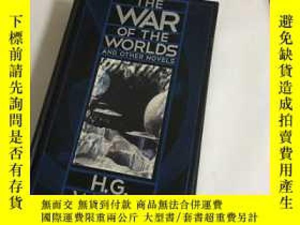 二手書博民逛書店THE罕見WAR OF THE WORLDS AND OTHER NOVELS)精裝Y13534 H G WE
