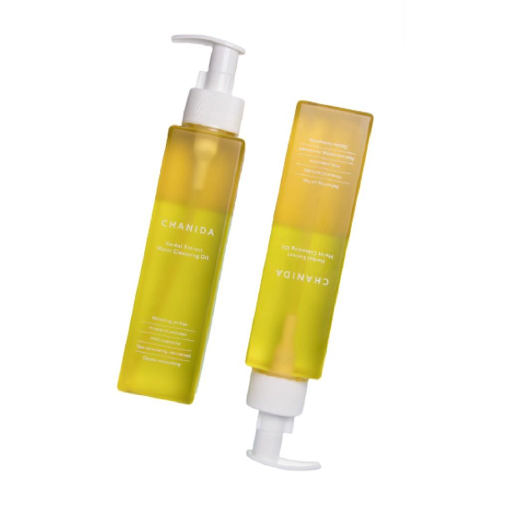 CHANIDA-植萃保濕潔顏油-2瓶組