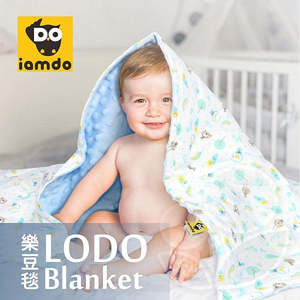 Puku 藍色企鵝 LoDo樂豆毯-80x120cm (6款可選)【佳兒園婦幼館】