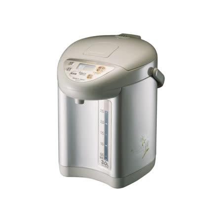 【ZOJIRUSHI象印】3公升微電腦電動熱水瓶 CD-JUF30-CT