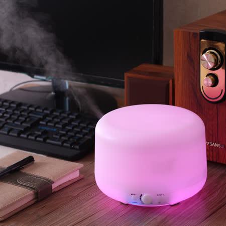 Warm 燈控/定時超音波負離子水氧機(W-600S七彩燈)