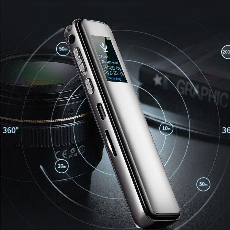 錄音筆錄音筆智慧降噪6D曲面彩屏TF卡擴展插卡外放錄音筆錄音機 ciyo黛雅【雙十二全館免運】