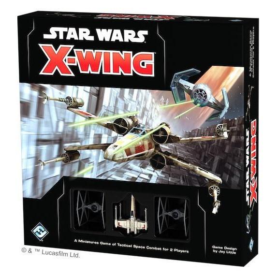 附發票  x翼戰機最新版 繁中版 star wars x wing second edition