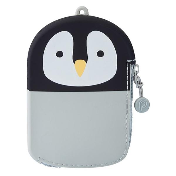 日本 LIHIT LAB 零錢包 企鵝 造型零錢袋 零錢證件包 【金玉堂文具】