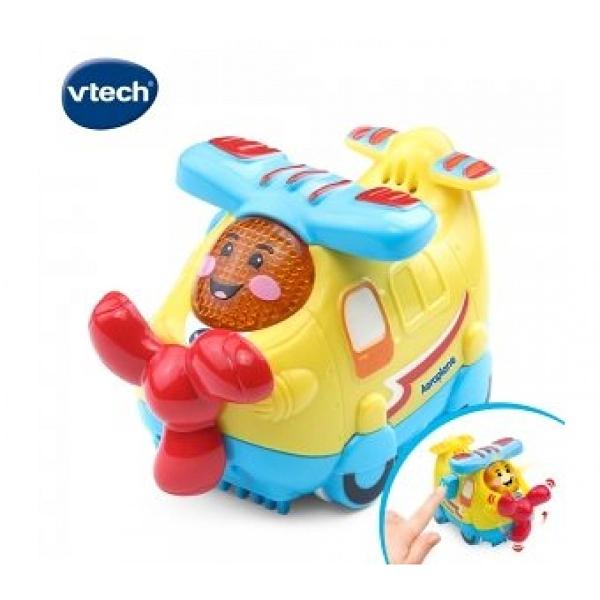 【英國 Vtech 】嘟嘟聲光互動車-飛機 / JOYBUS玩具百貨
