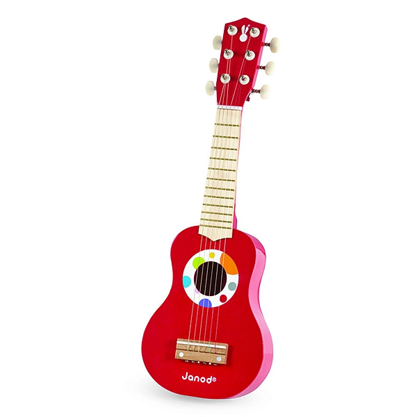 【法國Janod】音樂好好玩-我的紅吉他