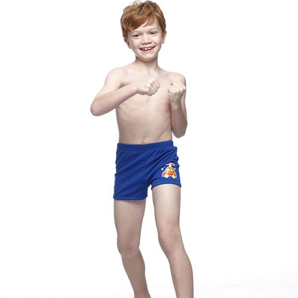【南紡購物中心】【SARBIS】MIT泡湯SPA兒童三分泳褲附泳帽B62403-05