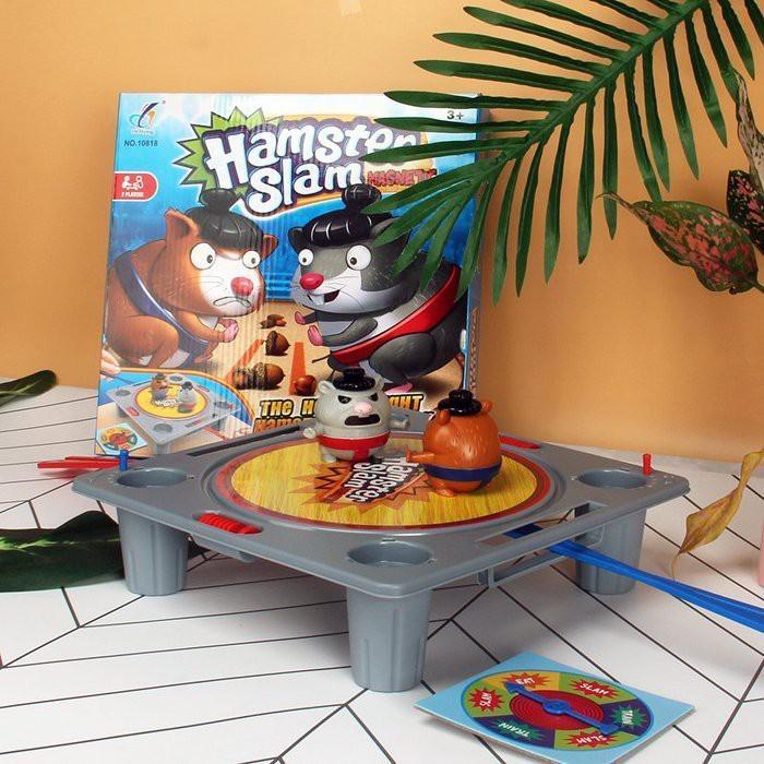 磁力相撲倉鼠 相撲對戰 桌遊 遊戲玩具 團康活動 摔角遊戲 倉鼠摔角cf146018