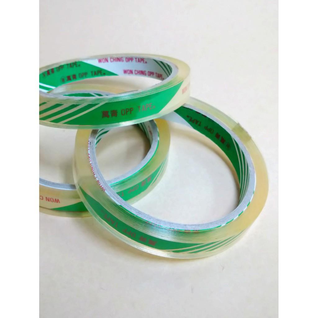 OPP透明膠帶(1卷) 12mm 文具膠帶 辦公用品