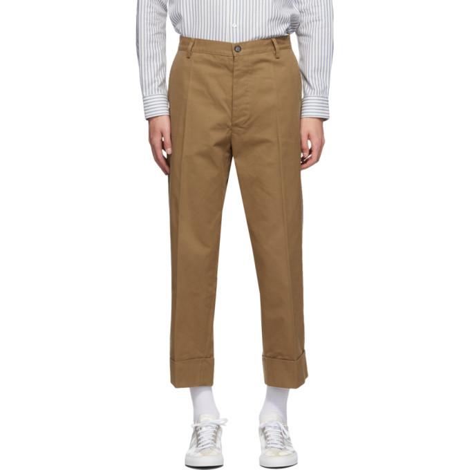 PRESIDENT's 军绿色 Lavoratore 长裤