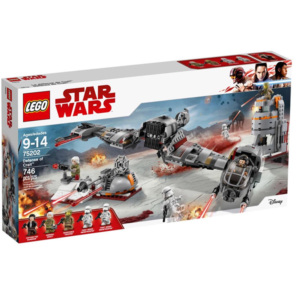75202【LEGO 樂高積木】星際大戰Star Wars系列-Defense of Crait