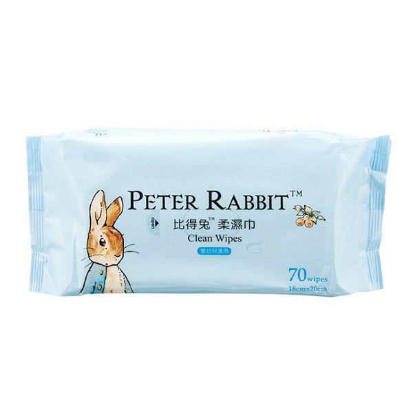 奇哥 比得兔柔濕巾-70抽 濕巾 濕紙巾【麗兒采家】