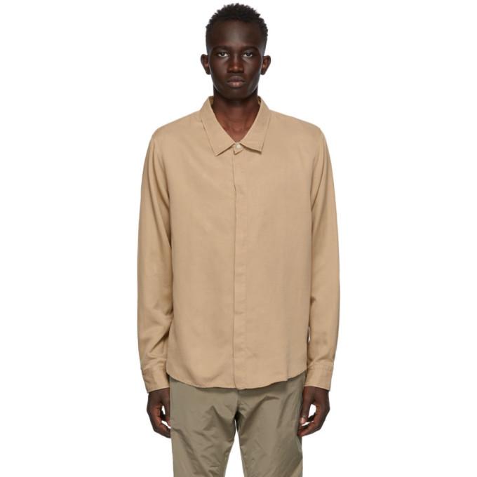 Tiger of Sweden SSENSE 独家发售黄褐色 Atteneo 衬衫
