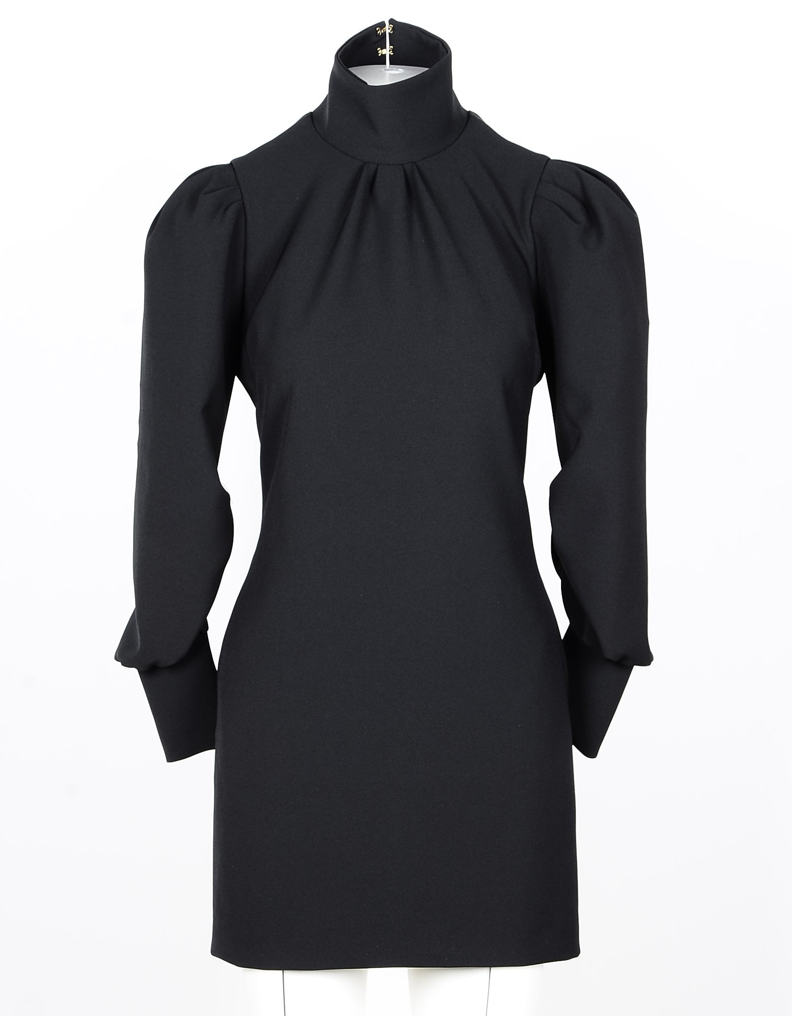 Marco Bologna 连衣裙、连衣裤, Black Open Back Women's Mini Dress w