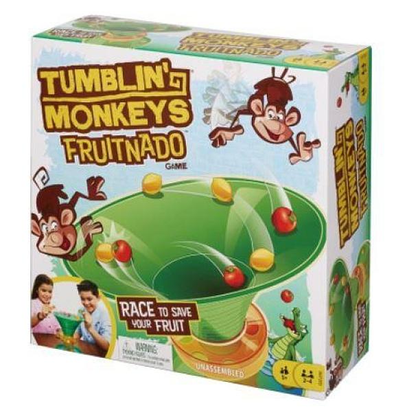 『高雄龐奇桌遊』 跳跳猴大作戰之 猴子轉轉樂 tumbling monkeys fruitnado 正版桌上遊戲專賣店