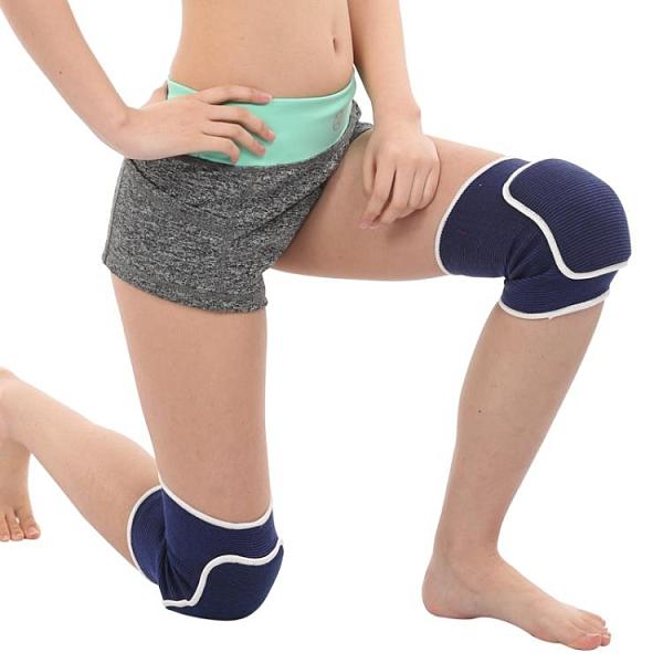 護膝運動舞蹈護膝足球跑步跳舞專用膝蓋跪地加厚海綿輪滑護具男女兒童[【全館免運】]
