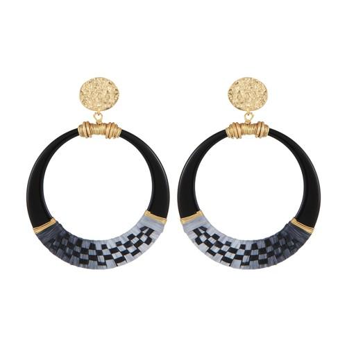Lodge Raffia earrings