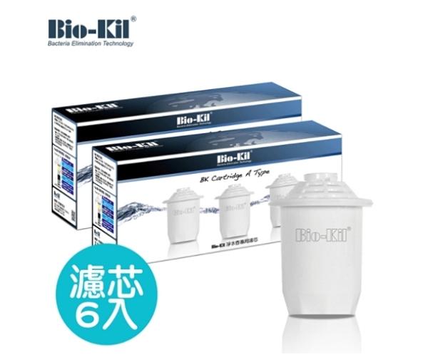 【超人百貨T】Bio-Kil 淨水壺專用濾芯 - 6入濾芯