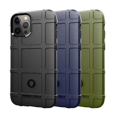 QinD Apple iPhone 12 Pro Max 戰術護盾保護套