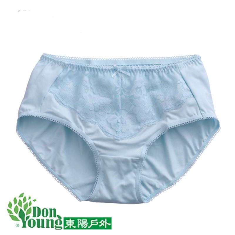 【ZMO台文針織】女中腰蕾絲內褲 吸濕排汗 透氣 抑制細菌孳生 裕隆集團 型號:318