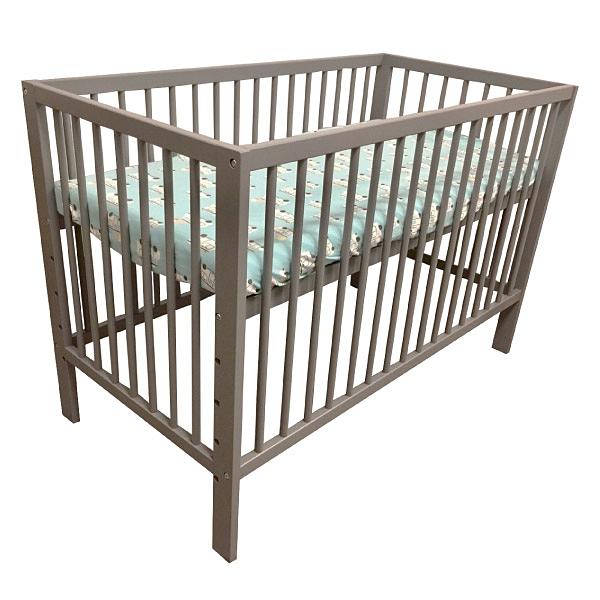 【白色預購-5月初到貨】喬依思 La joie Liz 嬰兒床(附床墊) 灰/白