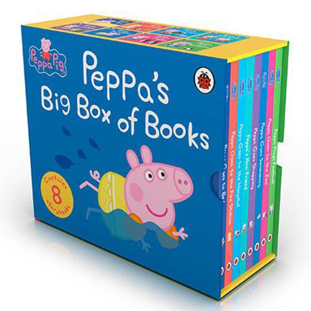 Peppa's Big Box Of Books 佩佩豬的故事套書(硬頁書)(外文書)