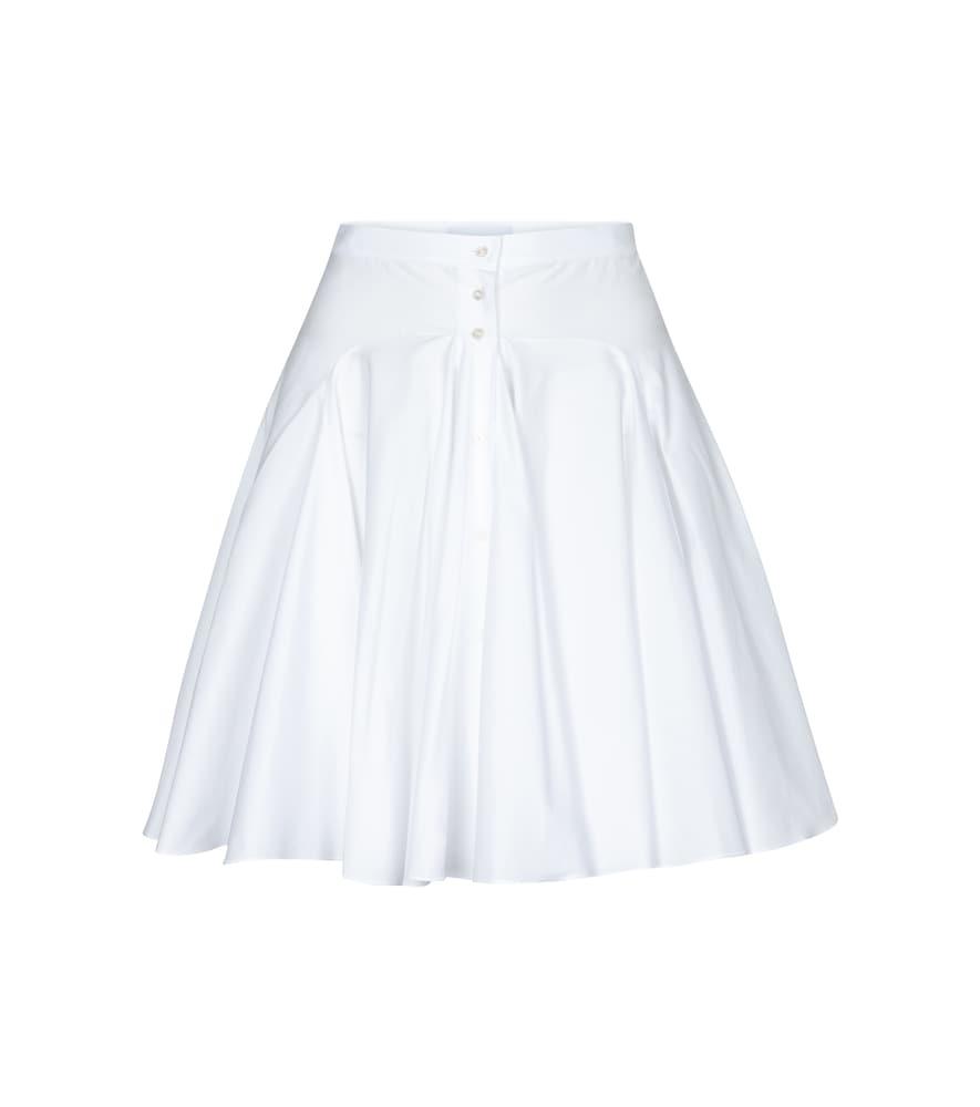 Alaïa Edition 1987 cotton poplin miniskirt