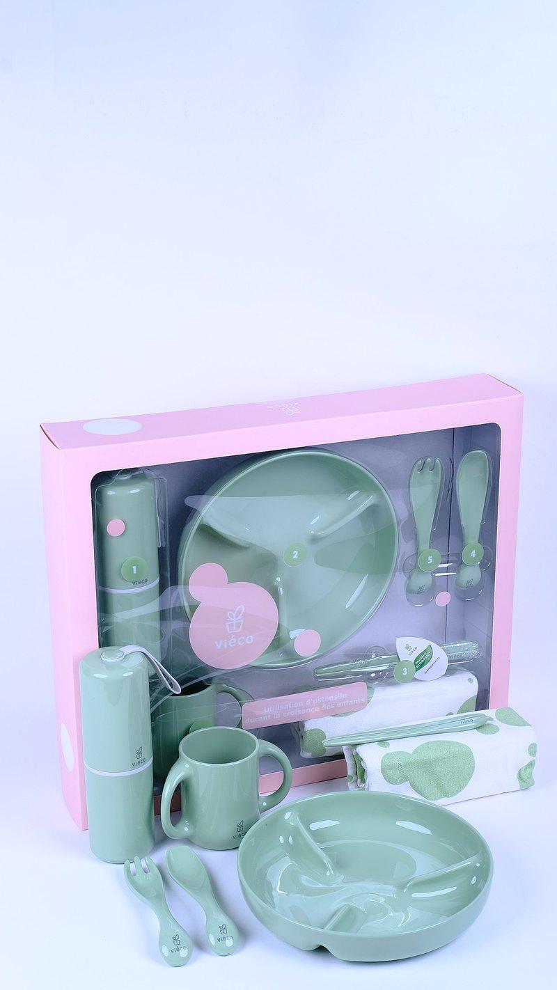 Viéco環保植物PLA制造生物降解 7件餐具禮盒裝