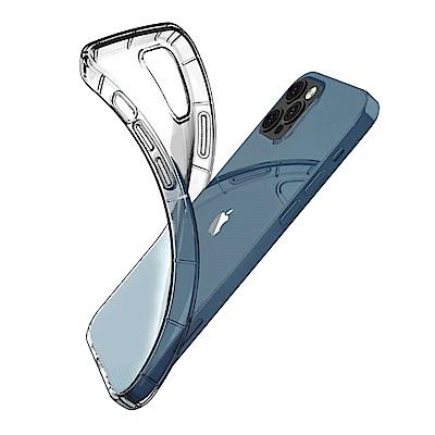 iPhone 12 Pro 防摔殼 手機保護殼 透明 氣墊空壓殼 手機殼 保護殼-i12 Pro 氣墊*1