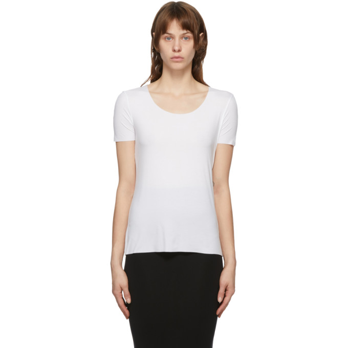 Wolford 白色 Aurora Pure T 恤