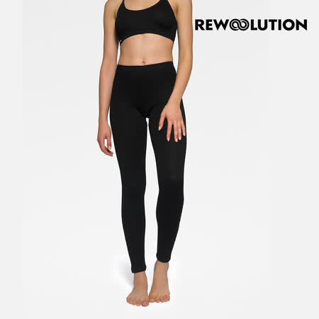 【Rewoolution】女COVER 180g內搭褲[黑色] REJB2WP50195