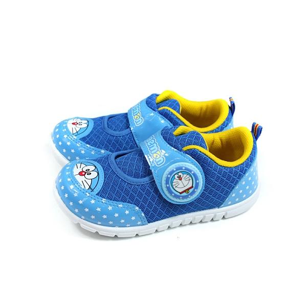 哆啦A夢 休閒鞋 藍色 魔鬼氈 中童 童鞋 DMKB90806 no803