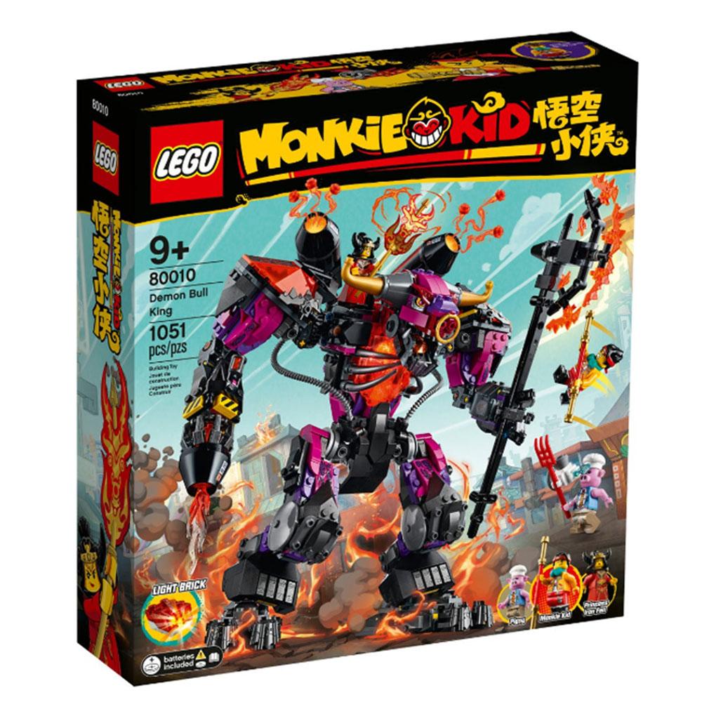 80010【LEGO 樂高積木】悟空小俠 Monkie Kid 系列 - 牛魔王烈火機甲 (1051pcs)