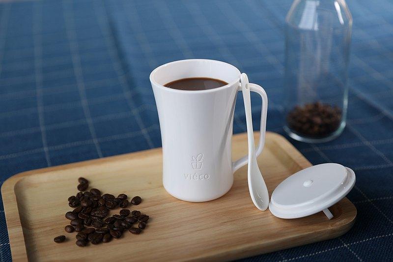 Viéco環保植物制造生物降解PLA帶蓋環保杯
