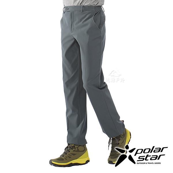 【PolarStar】中性 輕便保暖紳士褲『鐵灰』P20417 戶外│休閒│登山│露營│刷毛│禦寒│保暖