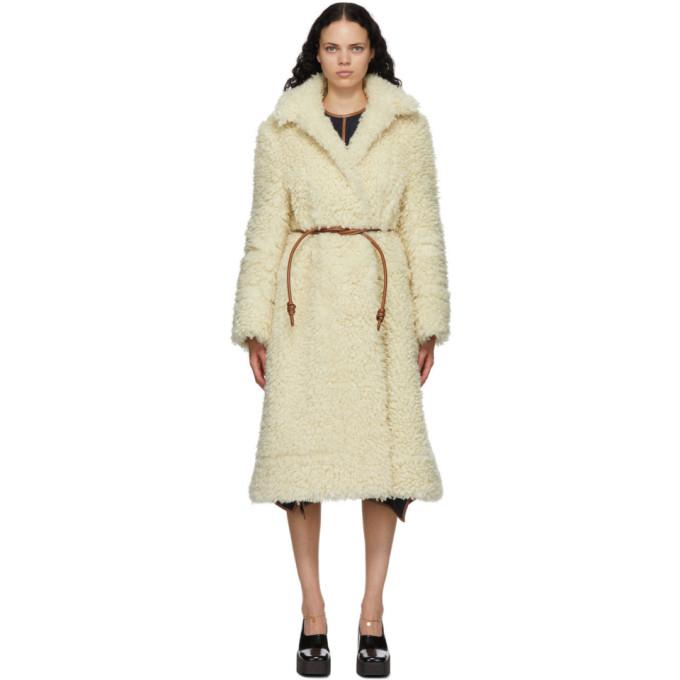 Stella McCartney 灰白色 Elena 大衣