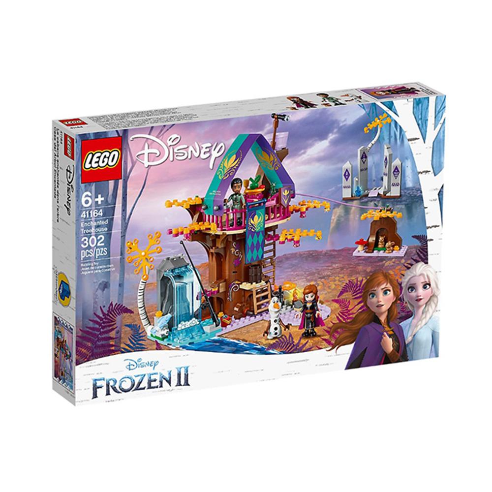 41164【LEGO 樂高積木】迪士尼公主Disney系列-被施法的樹屋(302pcs)