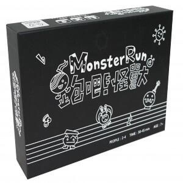 『高雄龐奇桌遊』 跑吧 怪獸 音樂桌遊 Monster Run 繁體中文版 正版桌上遊戲專賣店