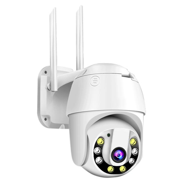 360度防水無線影音1080P監視器C6S【H265日夜全彩】V380手機APP遠端WIFI監視器