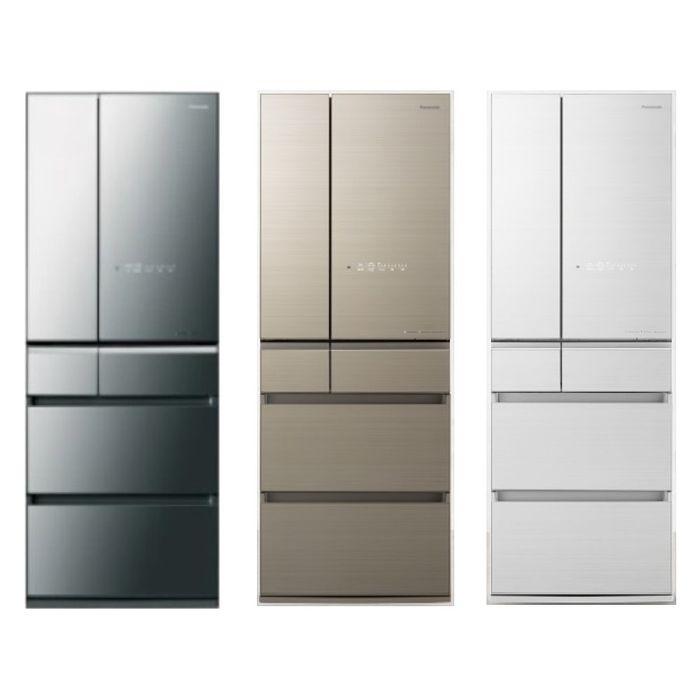 【Panasonic 國際牌】 600公升六門變頻冰箱NR-F606HX (三色)