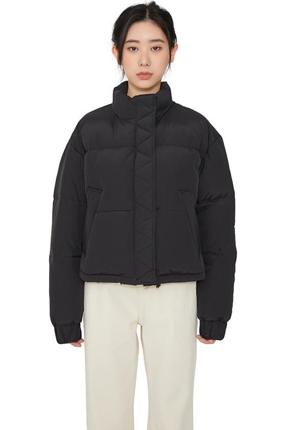 韓國空運 - Montt short padded down jacket 拉鍊外套