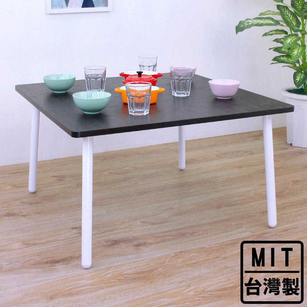 愛家寬80x深80x高46/公分-正方形和室桌/矮腳桌/餐桌/書桌(三色可選)