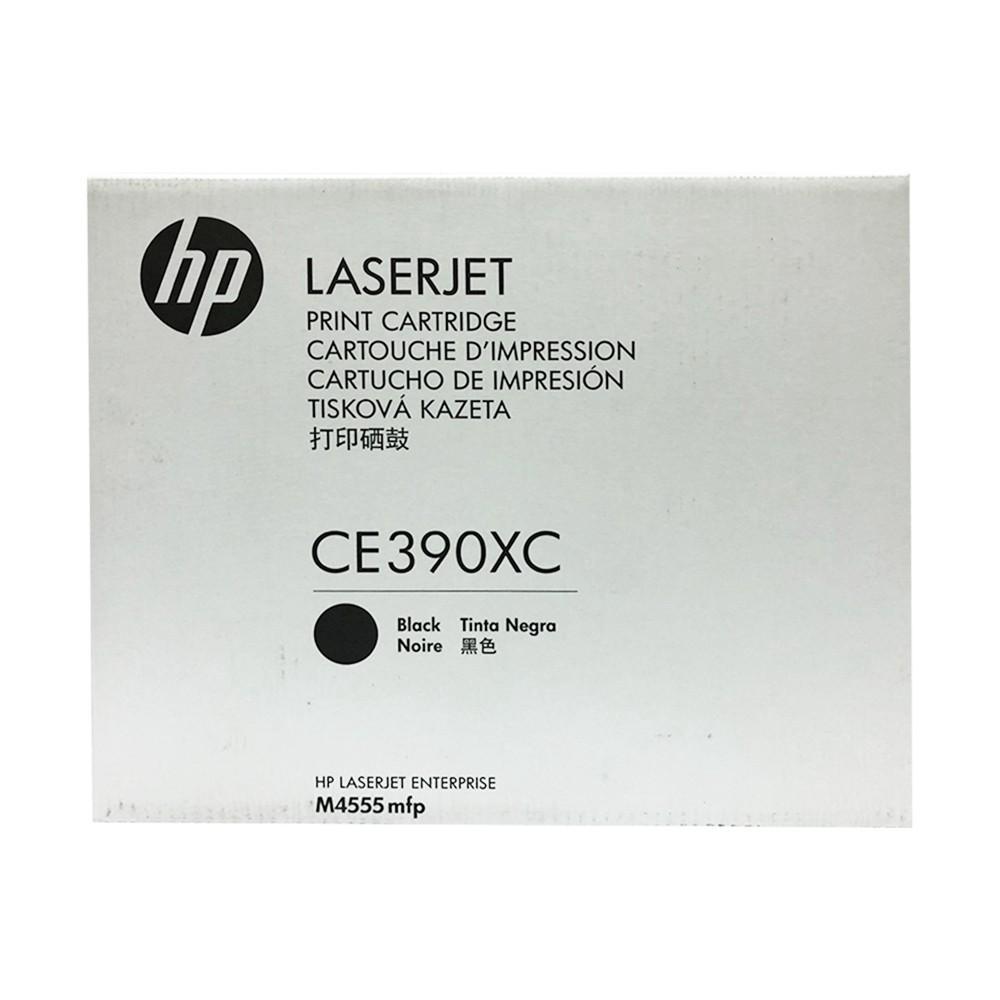 【HP 惠普】90X(白盒包裝)黑色LaserJet碳粉匣