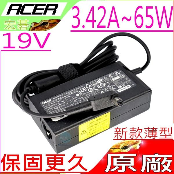 ACER 65W (原廠薄型) -19V 3.42A ,EC141O,EC1417,EC1420,EC1430,EC1434,EC1435,PA-1650-01,TM6495,6495
