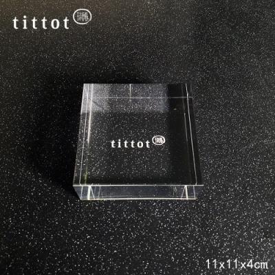 琉園tittot 壓克力底座_11x11x4cm小方