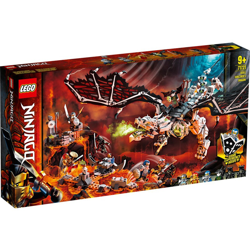 LEGO 樂高 71721 骷顱頭巫師之龍