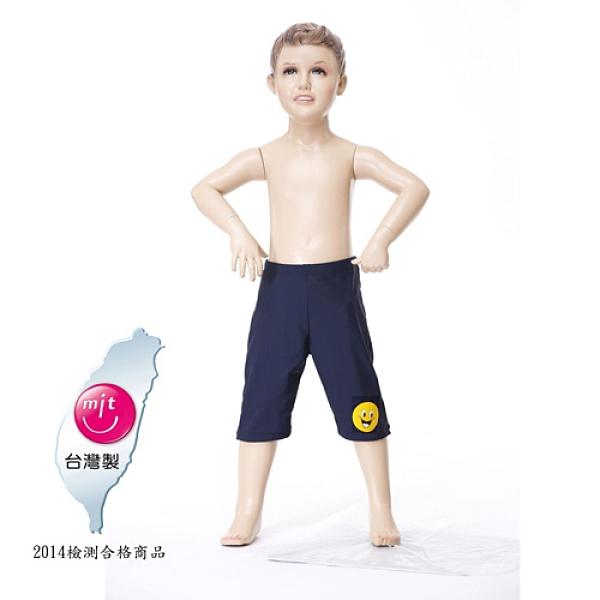 【南紡購物中心】【Bich Loan】兒童競泳七分泳褲附泳帽13003102