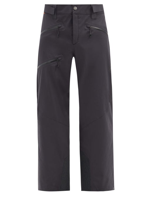 Mammut Delta X - Stoney Cordura-panelled Soft-shell Ski Trousers - Mens - Black