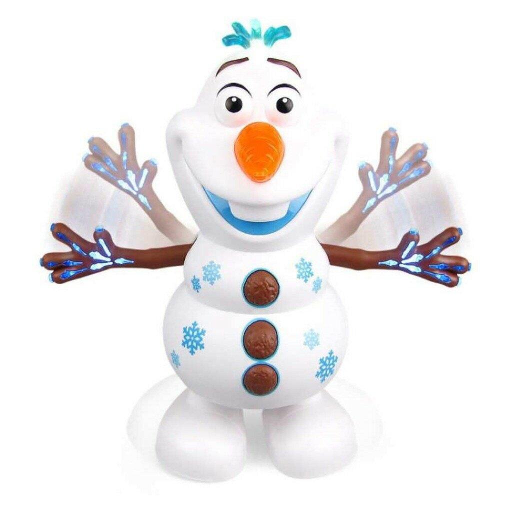 【維美 台灣現貨】跳舞機器人(附電池) 電動玩具  電動跳舞雪人  交換禮物
