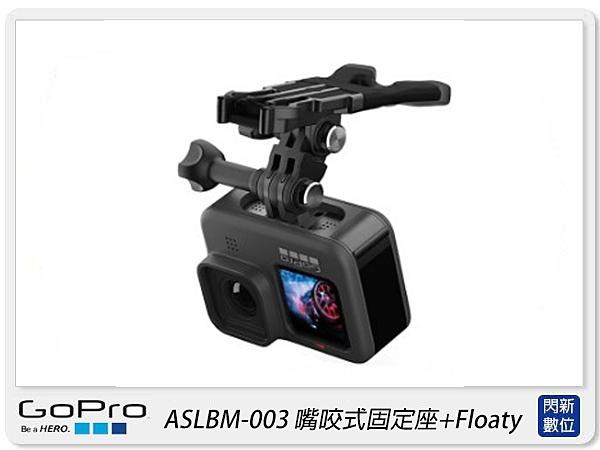 GOPRO ASLBM-003 嘴咬式固定座+Floaty 衝浪 適 HERO 9(ASLBM003,公司貨)